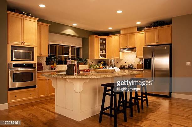 Moderne Küche house Innenansicht