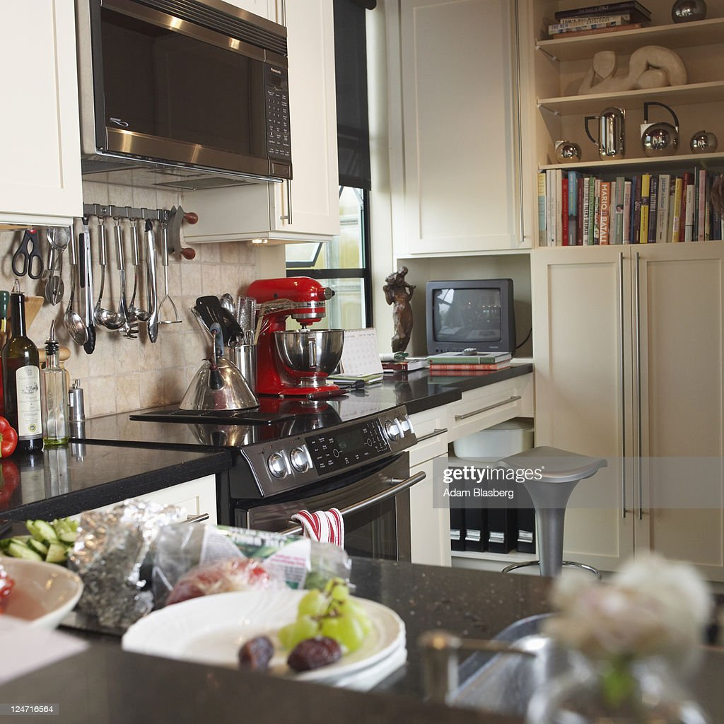 Modern kitchen interior : Stock Photo