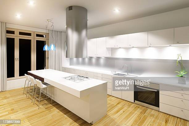 Modern kitchen interior