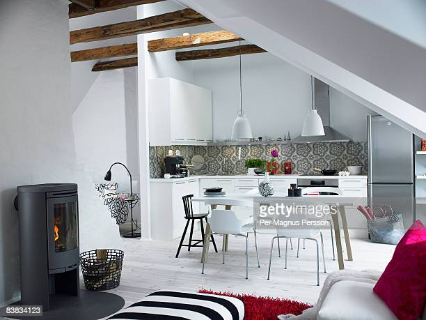 A modern kitchen Sweden.
