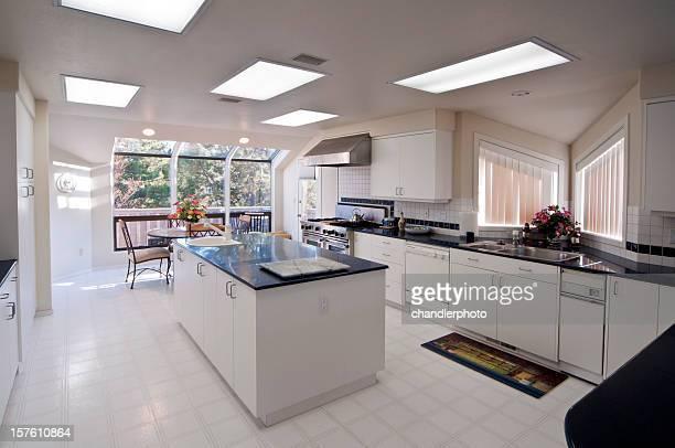 Moderna cozinha com Ilha