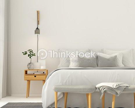 Intérieur Moderne Chambre Gris Clair Photo - Thinkstock