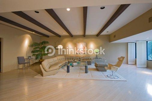 Modern Living Room Interior Stock Foto Thinkstock