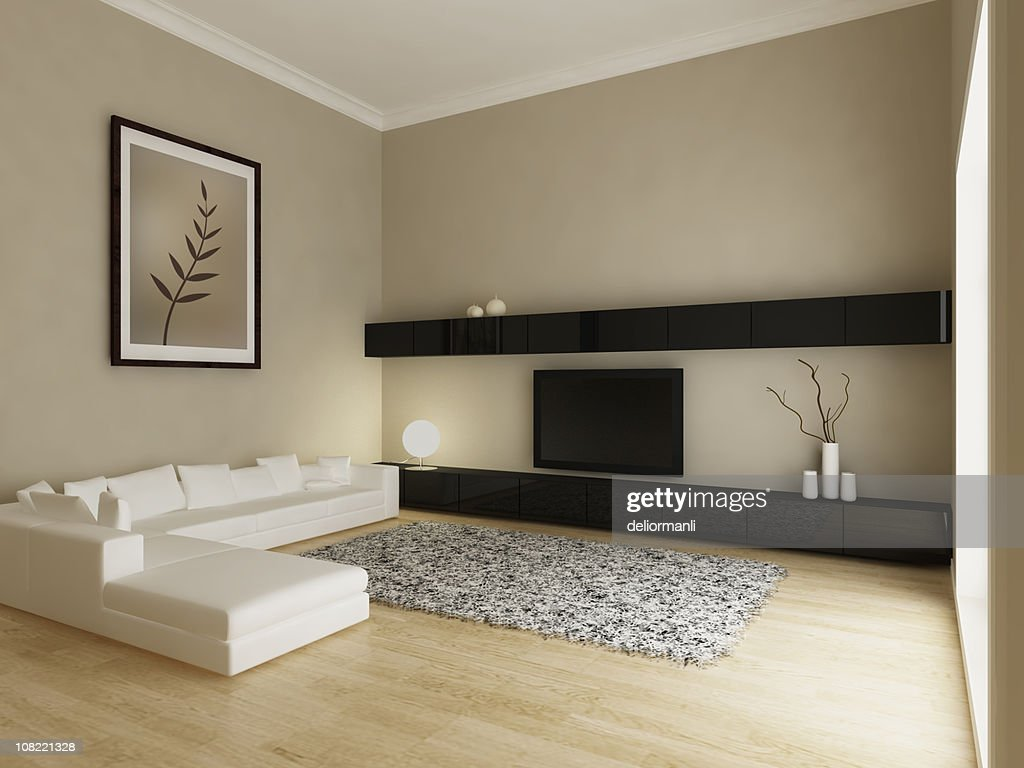 Modern Living Room Interior : Stock Photo