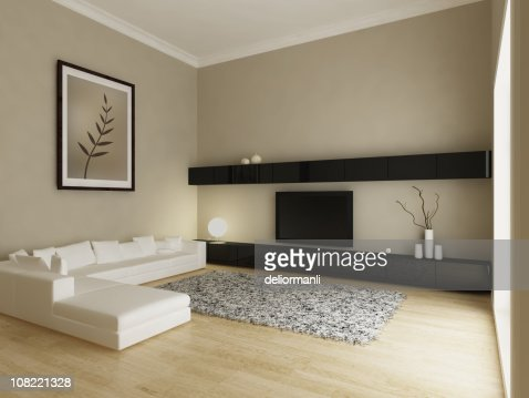 Modern Living Room Interior Stock Photo Getty Images