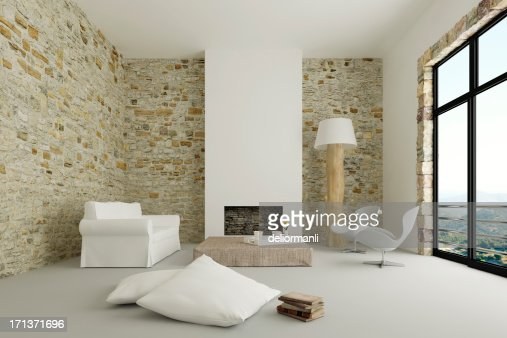 Moderno salotto interno foto stock getty images for Cherche decoration interieur maison