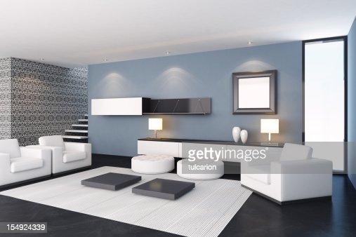 Photo Sejour Moderne : Moderne salle de séjour photo getty images