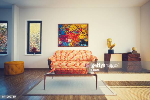 Modern Living Room (Toned Image)