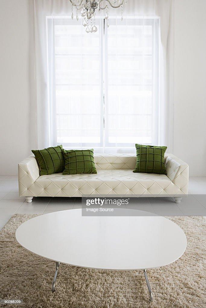 A modern living room : Stock Photo