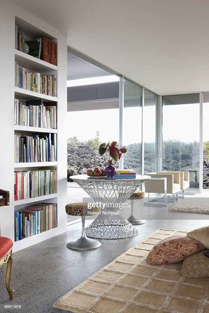 Modern living room : Foto de stock