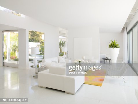 Modern living room : Stockfoto