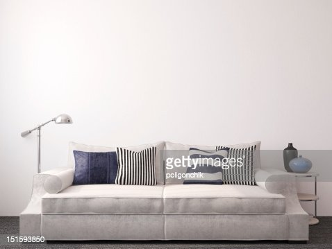 Modern living-room : Stock Photo