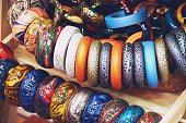 Modern Luxury accessories wooden arm bracelet jewelry