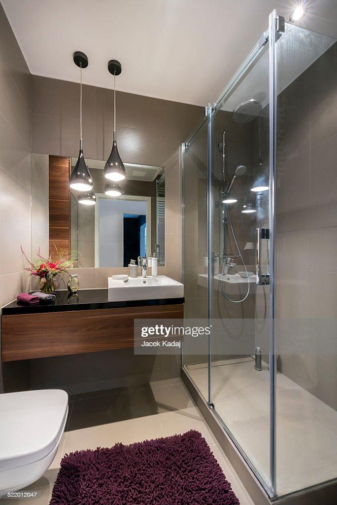 Modern Luxury Bathroom Interior Design Stock Photo Getty Images