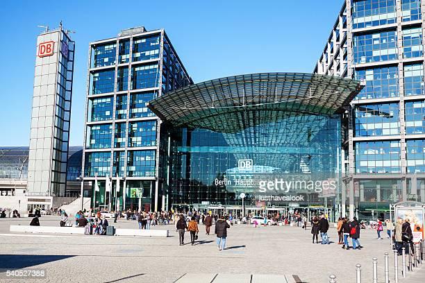 Moderne Hauptbahnhof Berlin