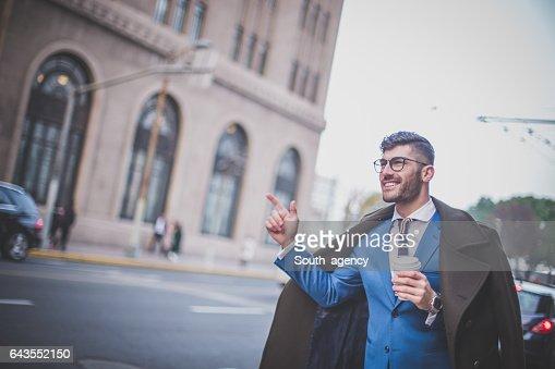 Modern man on the street