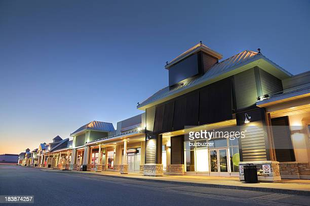 Modern Marketplace Store Exteriors