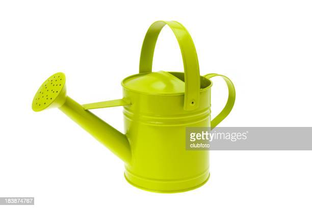 Modern metal watering can