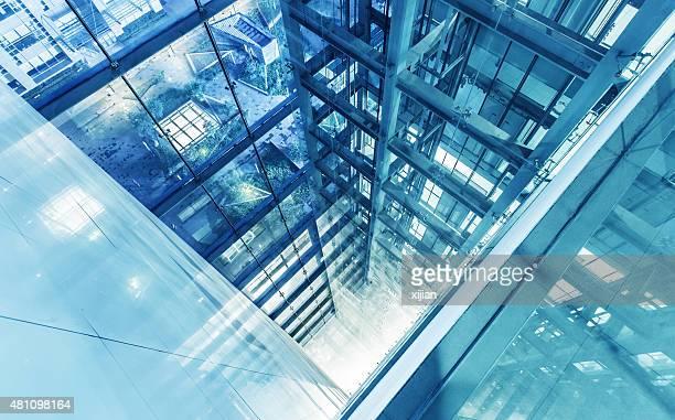 Modern multistory office building