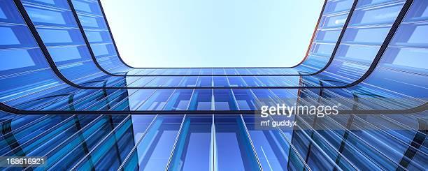 Modern Office Architecture panoarama 36Mpx