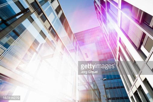 Modern office architecture : Stock Photo