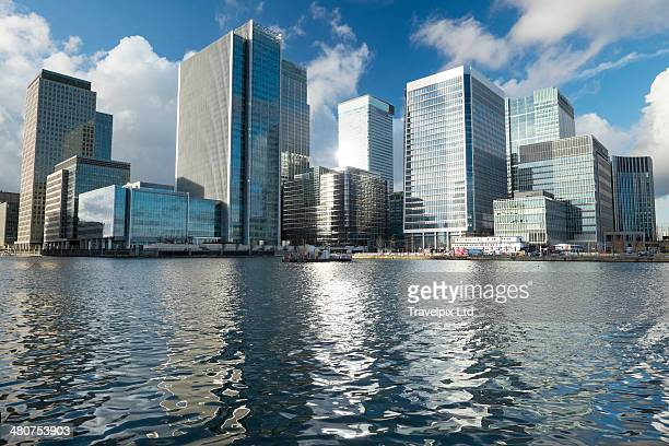 Modern Office building, Canary Wharf, London