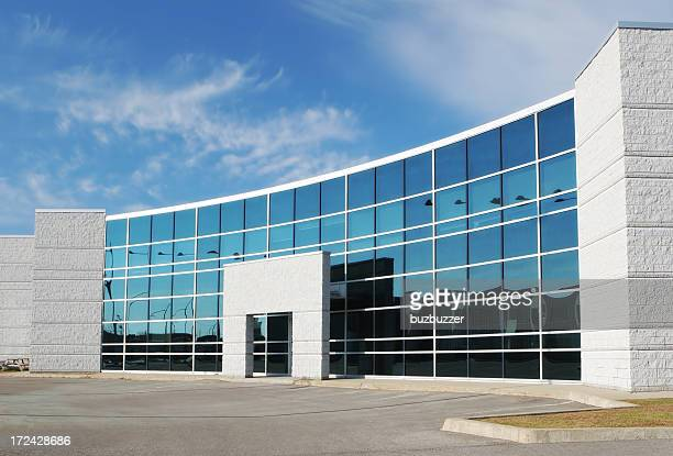 Moderne Bürogebäude Eingang