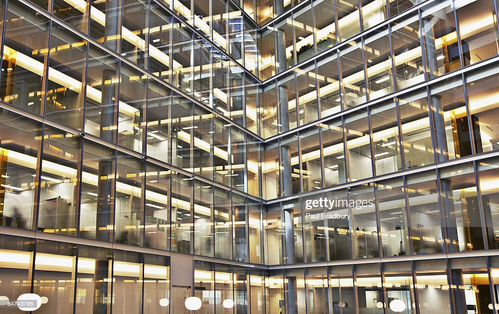 Modern office building exterior : Stock Photo