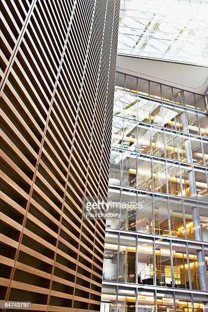 Ufficio moderno edificio esterno