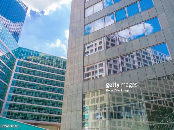 Modern office building in Vienna, Austria, location: Vienna International Centre (VIC)