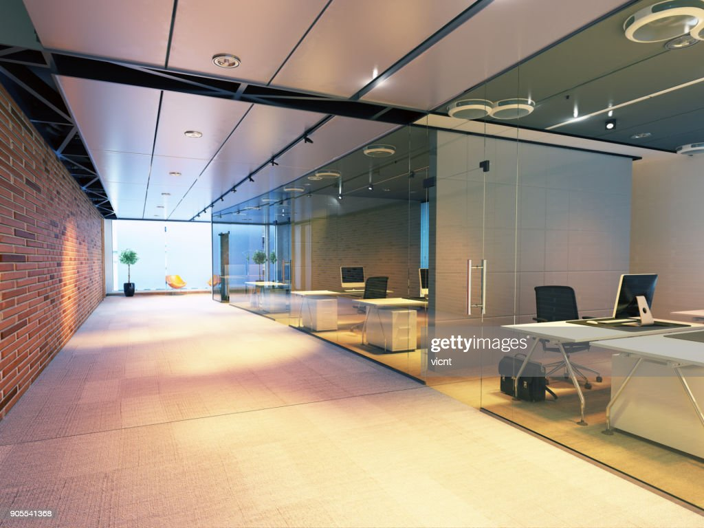 Configuration des bureaux modernes de deux personnes bureau de