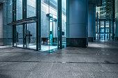 modern office building lobby,china.