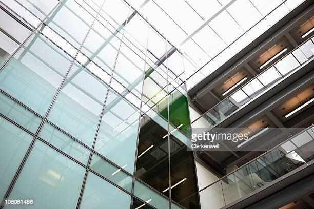 Immeubles de bureaux modernes