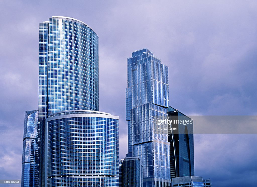 Modern office buildings : Stock Photo