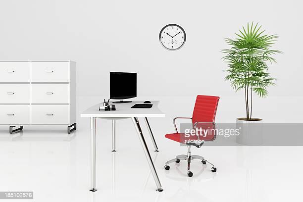 Moderno escritório-Traçado de Recorte