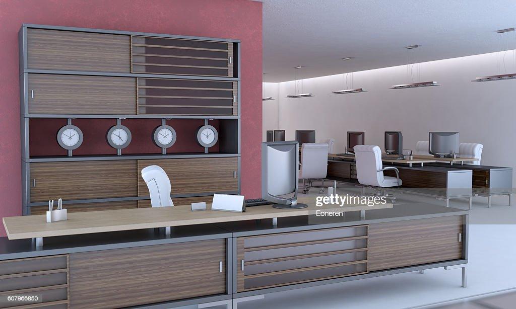 Design intérieur moderne de bureau photo thinkstock