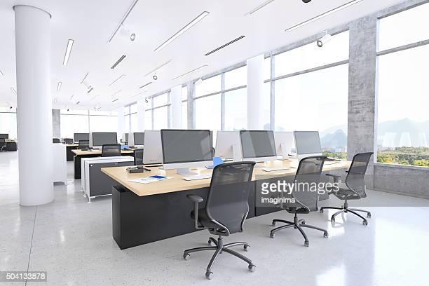 近代的なオフィススペース