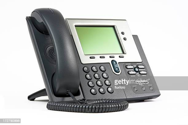 Modern office telephone