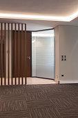 modern office vertical