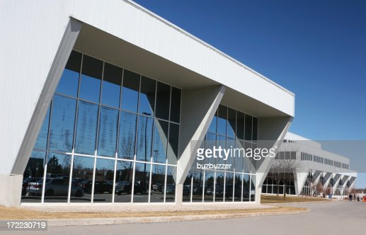 Modern Offices Park : Stock Photo