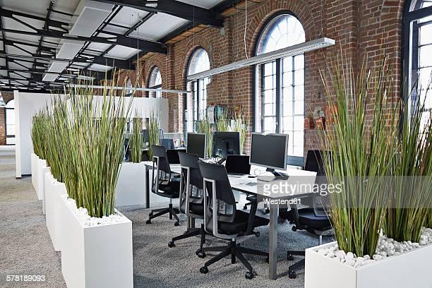 Modern open plan office