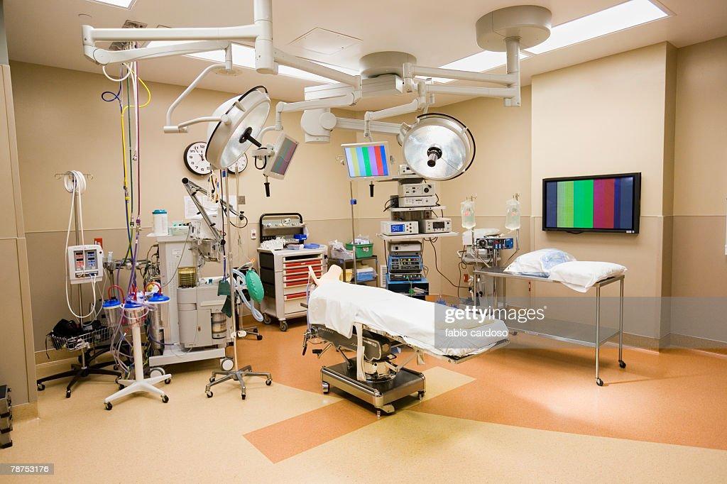 Modern Operating Room In Hospital - 392.1KB