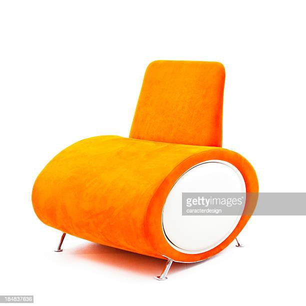 Modern orange chair