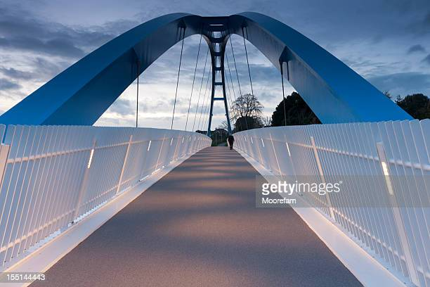 Ponte pedonale sopra autostrada M5, Exeter