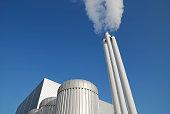 Modern power station