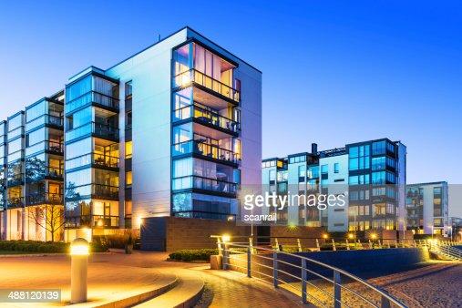 현대적이다 부동산 : 스톡 사진