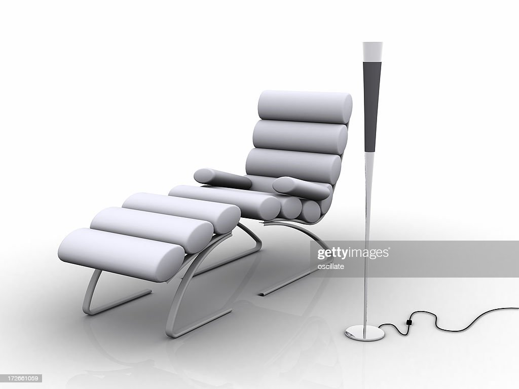 Modern Relaxation : Stock Photo