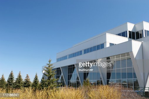 Modern Research Center Building : Stock Photo