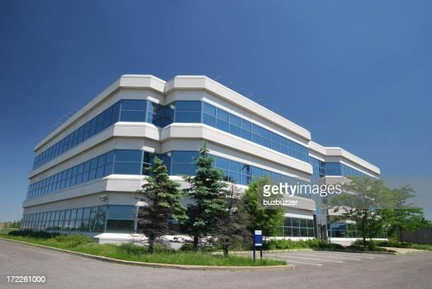 モダンな研究センタービル