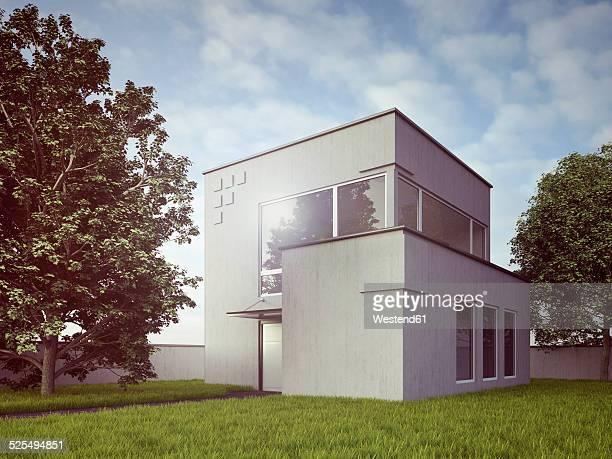 Modern residential home